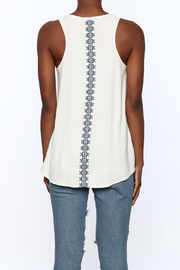 Thml Embroidered Tank - Back cropped
