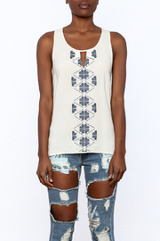 Thml Embroidered Tank - Side cropped