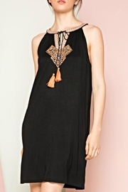 Thml Embroidered Tassel Dress - Product Mini Image