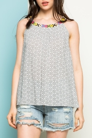 Thml Embroidered Top - Front cropped