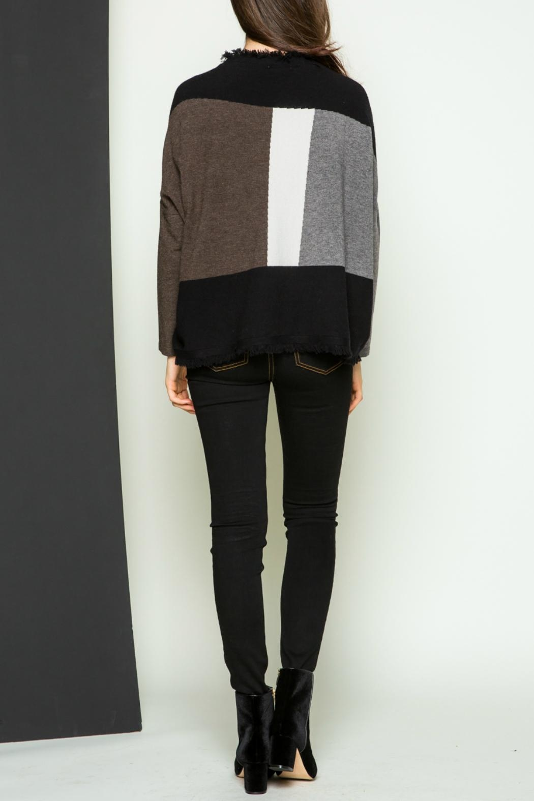 Thml Fringe Pullover Sweater - Side Cropped Image