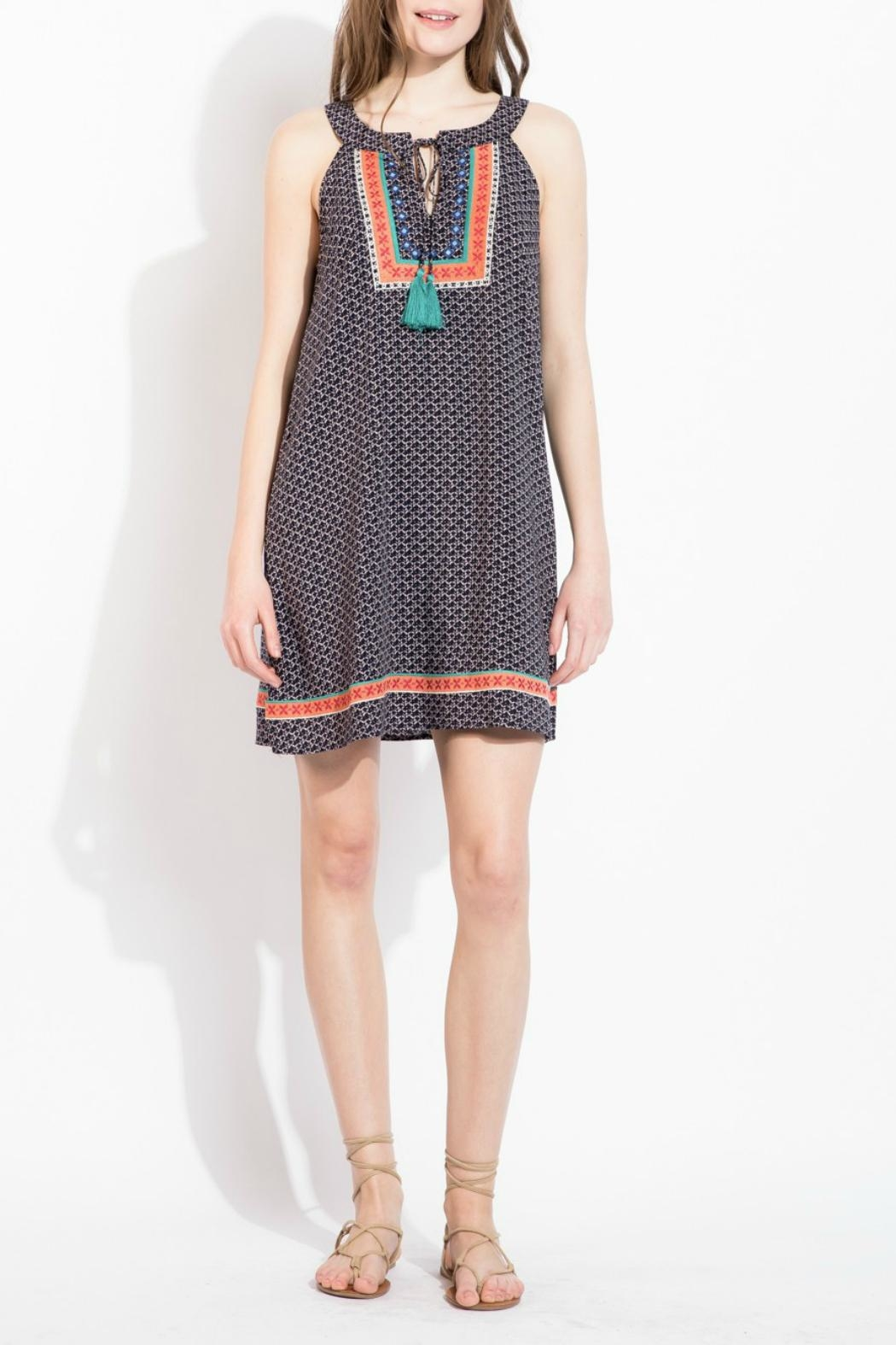 66232864820abb THML Clothing Halter Embroidered Dress from New York by Gado-Gado ...