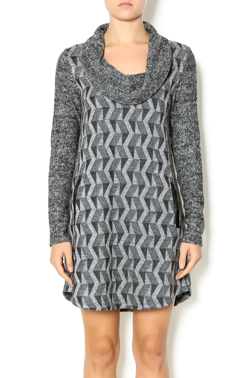 680bc3ba9874 THML Clothing Jacquard Knit Dress from Atlanta by Sole shoes ...