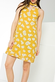 THML Clothing Mellow Yellow Dress - Product Mini Image