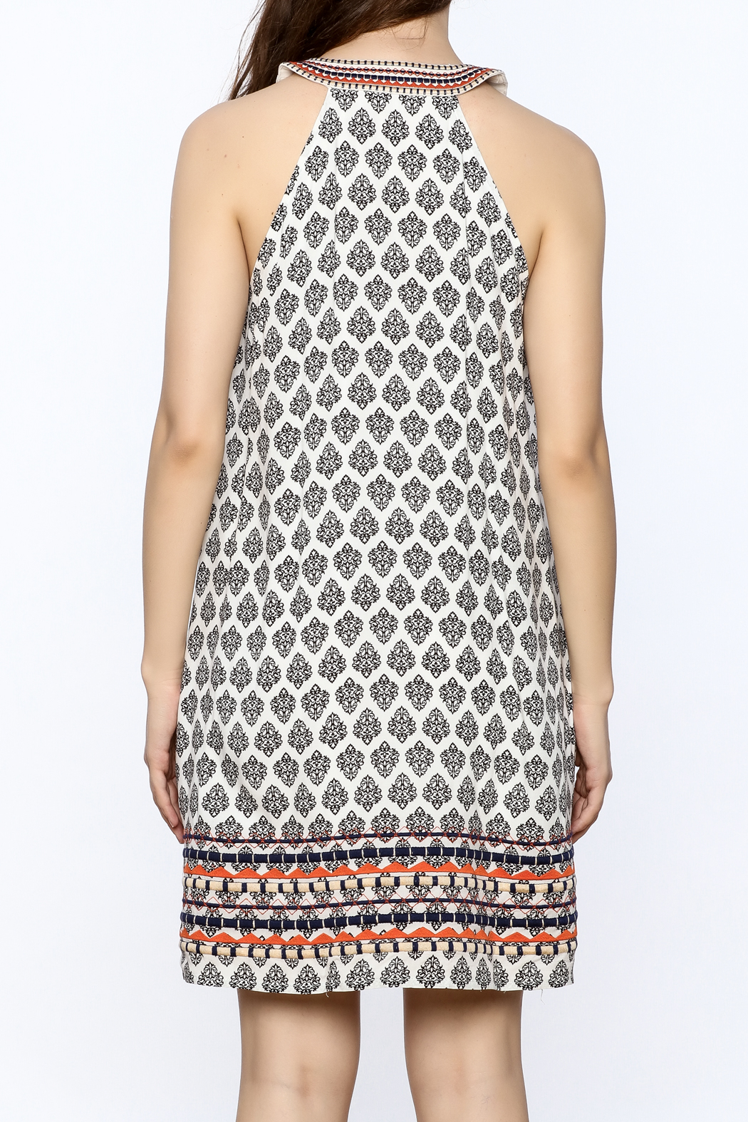Thml Monterey Dress - Back Cropped Image