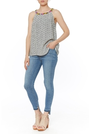 Thml Neck Top Blouse - Product Mini Image