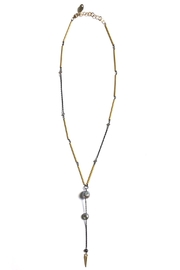 Susan Goodwin Jewelry Pearl Y Necklace - Front cropped