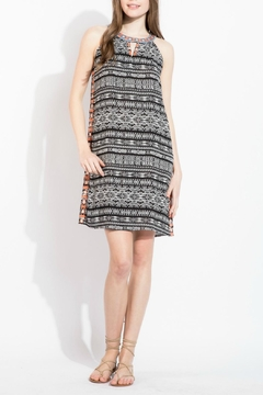 Shoptiques Product: Printed Sleeveless Dress