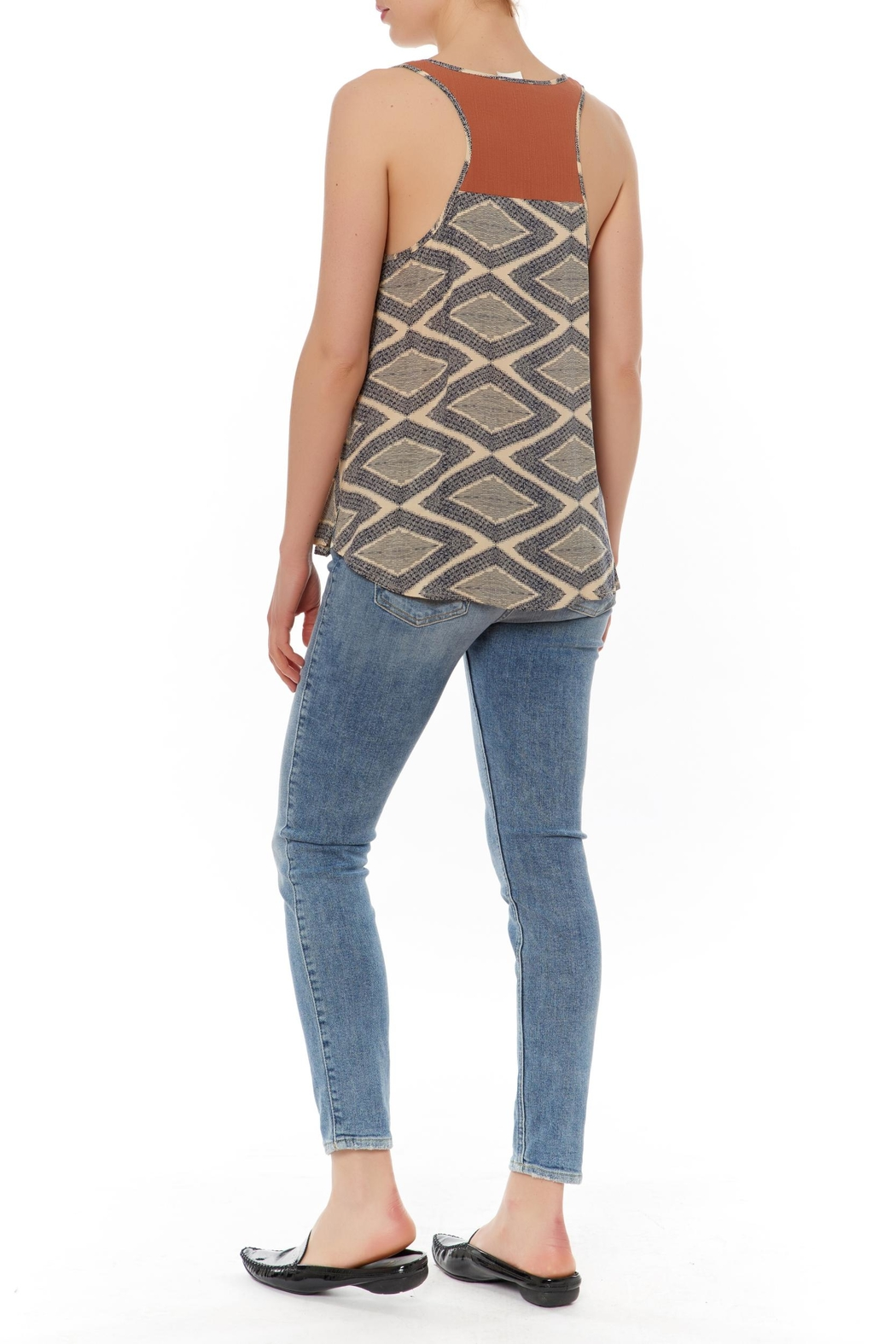 Thml Printed Sleeveless Top - Front Full Image