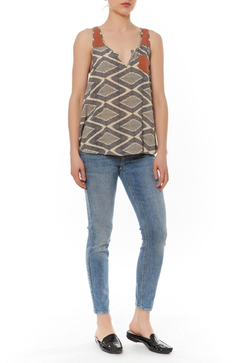 Thml Printed Sleeveless Top - Main Image