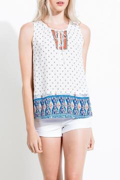 Shoptiques Product: Printed Tie Tank