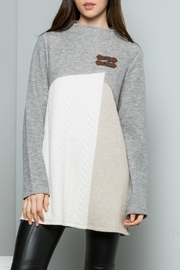 Thml Pullover Sweater Top - Product Mini Image