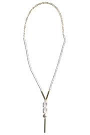 Susan Goodwin Jewelry Quartz Y Necklace - Product Mini Image
