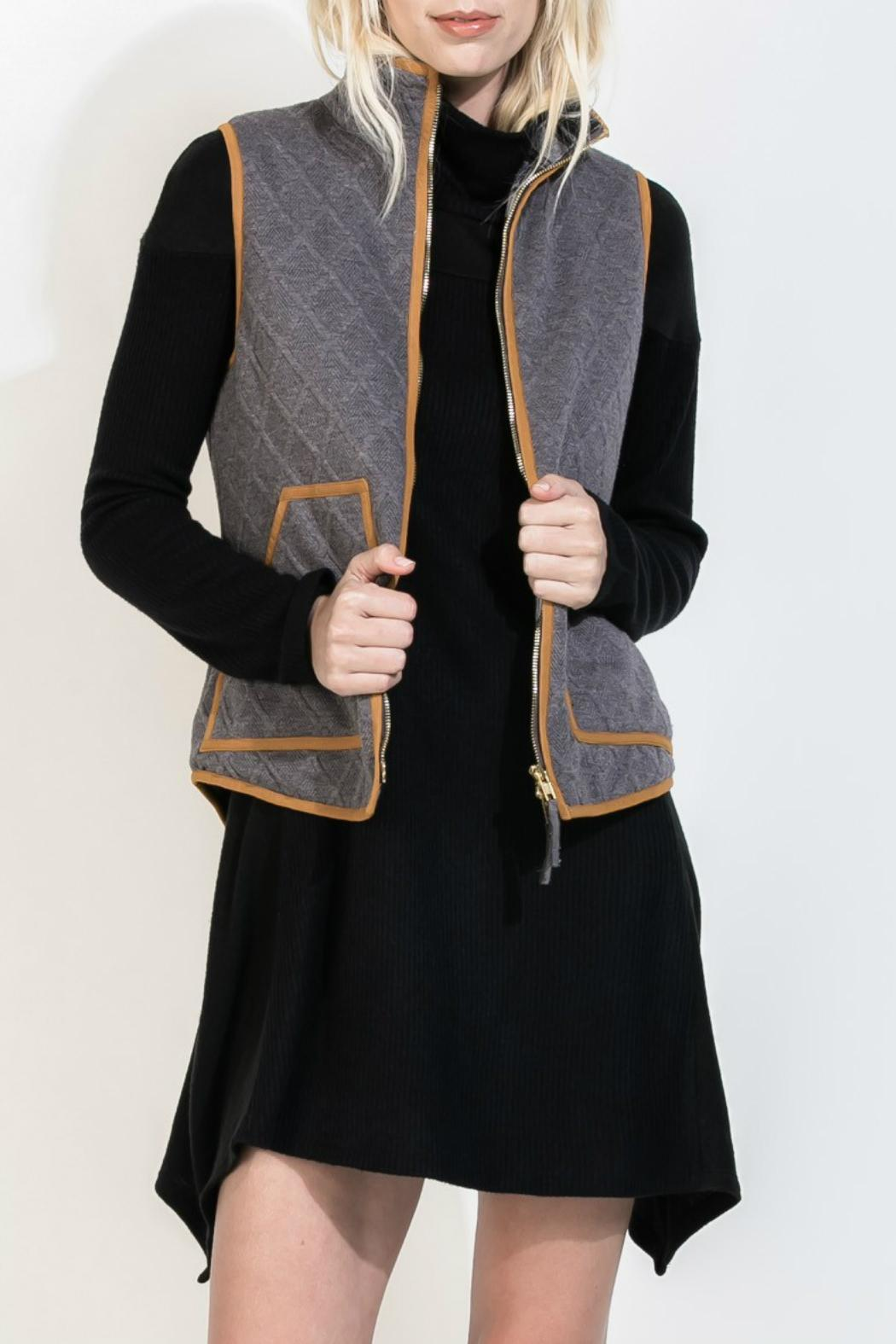 Thml Quilted Riding Vest from Texas by RueBird Market — Shoptiques : quilted riding vest - Adamdwight.com