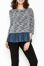 Thml Ruffle Hem Top - Product Mini Image
