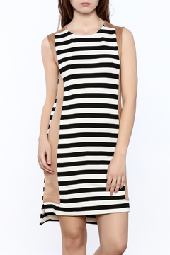 THML Clothing Stripe Mini Dress - Product List Image