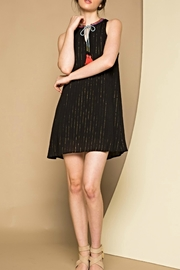 THML Clothing Sleeveless Pinstripe Dress - Product Mini Image