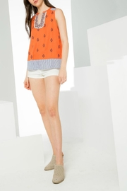 Thml Sleeveless Printed Top - Product Mini Image