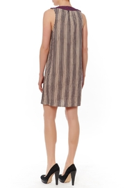 Thml Slvless Stripe Dress - Front full body