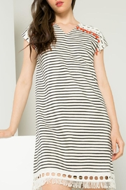Thml Striped Dress - Back cropped