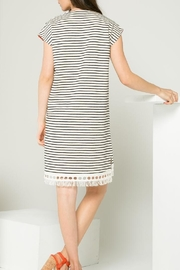 Thml Striped Dress - Front full body