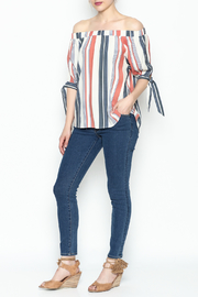 Thml Summer Stripes Top - Side cropped