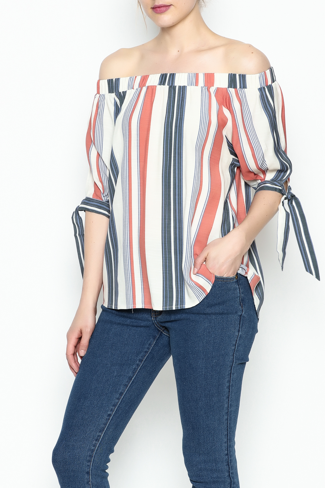 Thml Summer Stripes Top - Main Image