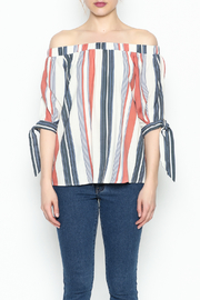 Thml Summer Stripes Top - Front full body