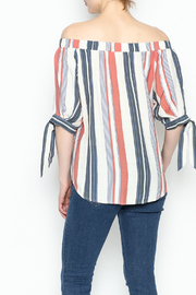 Thml Summer Stripes Top - Back cropped