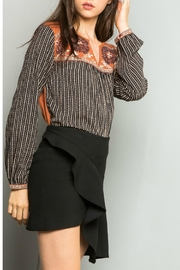 Thml Sweater Contrasting Top - Product Mini Image