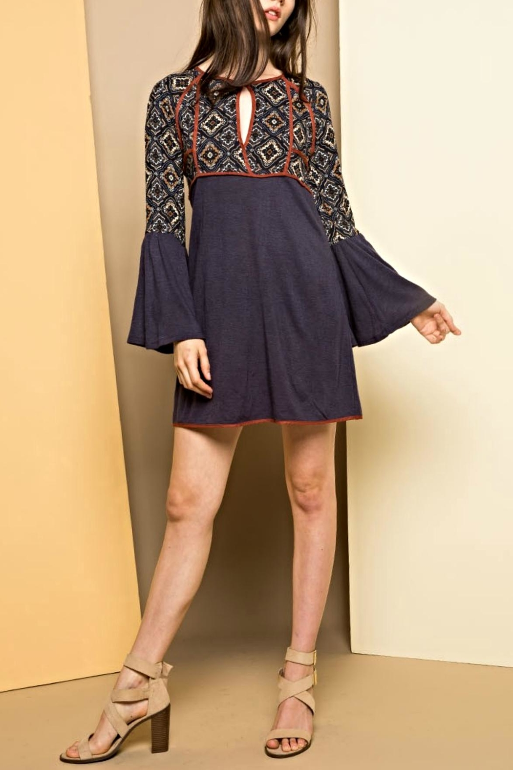THML Clothing Bell Beauty Dress - Main Image