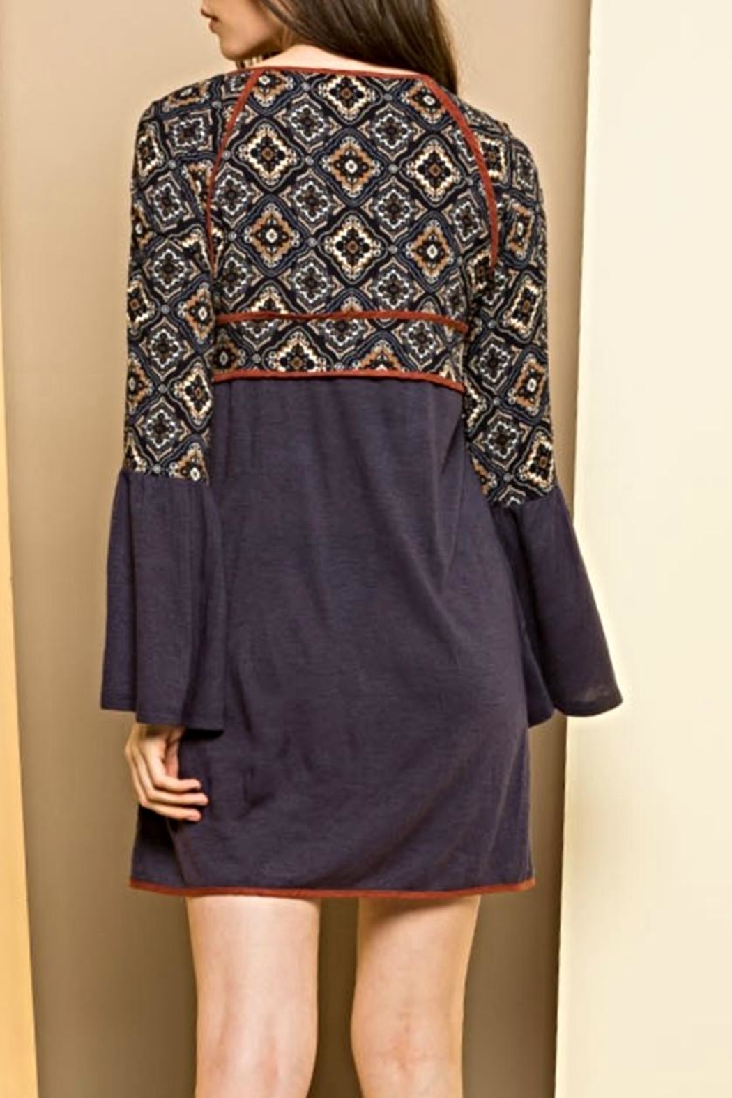 THML Clothing Bell Beauty Dress - Front Full Image