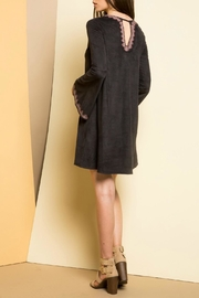 THML Clothing Bell Sleeve Dress - Front full body