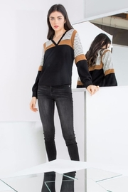THML Clothing Color Blocked Top - Product Mini Image