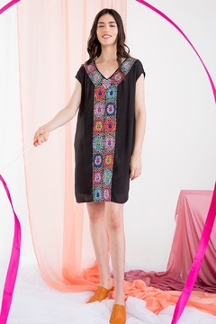 THML Clothing Crochet Detail Dress - Product List Image
