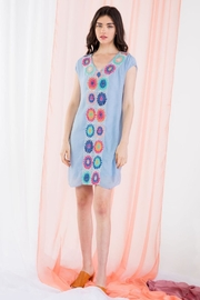 THML Clothing Crochet Detail Dress - Product Mini Image