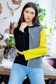 THML Clothing Divided Sweater - Product Mini Image