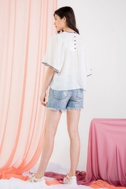 THML Clothing Embroidered Angel Top - Other
