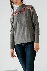 THML Clothing Embroidered Birdie Sweater - Product Mini Image