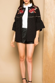 THML Clothing Embroidered Dotted Jacket - Product Mini Image