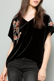 THML Clothing Embroidered Floral Top - Product Mini Image