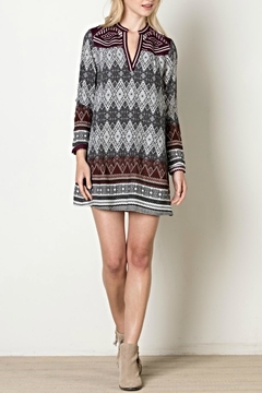 Shoptiques Product: Embroidered Pattern Dress