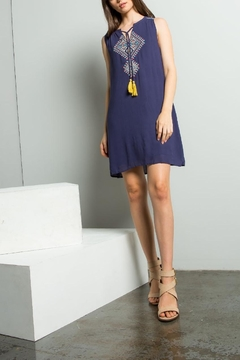 THML Clothing Embroidered Shift Dress - Alternate List Image