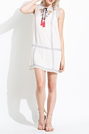 THML Clothing Embroidered Sun Dress - Product Mini Image