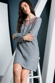 THML Clothing Embroidered Sweater Dress - Other