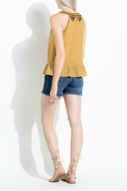 THML Clothing Embroidered Top - Front full body