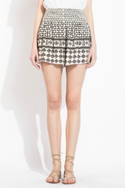 THML Clothing Geometric Printed Shorts - Front full body