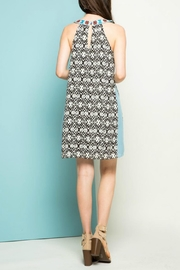 THML Clothing Halter Embroidered Dress - Other