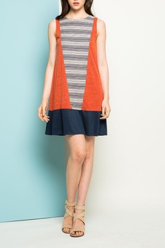 THML Clothing Heathered Knit Dress - Product List Image
