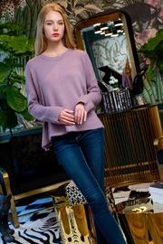 THML Clothing Jasmine Sweater In Lilac - Product Mini Image
